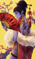 New Years Widowmaker by MonoriRogue