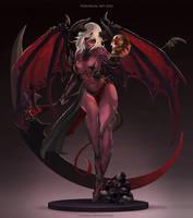 Demon Girl OC - Checkpoint 0203 by MonoriRogue