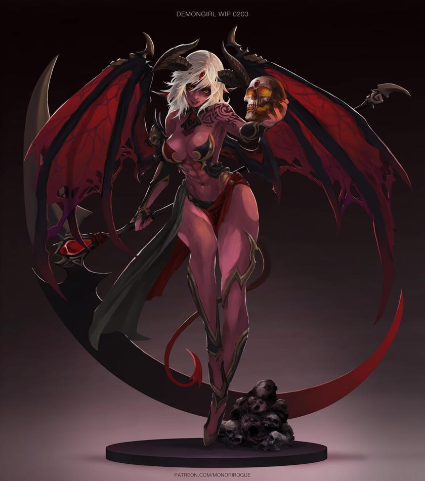 deviantart Demon succubus sex