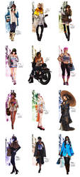 OW Fashion Series Calendar preview by MonoriRogue