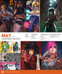Patreon May 2017 Content Preview