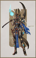 Old Art Redrawn - Anubis by MonoriRogue