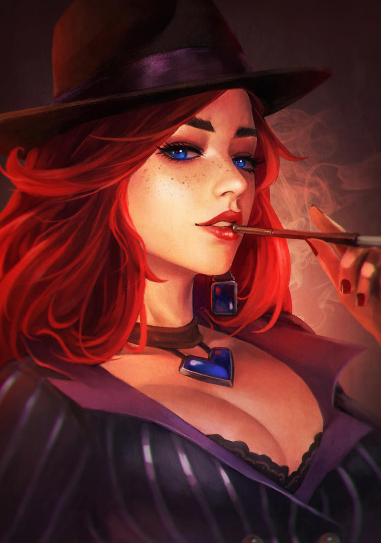 Miss Fortune by MonoriRogue