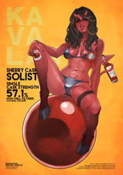 Whiskey Series - Kavalan Solist by MonoriRogue