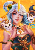 Lunar Empress Lux by MonoriRogue