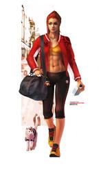 Overwatch Fashion Series - Brigitte by MonoriRogue