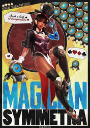 Magician Symmetra Pinup by MonoriRogue