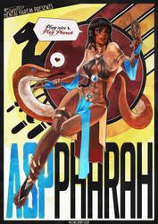 Asp Pharah Pinup by MonoriRogue