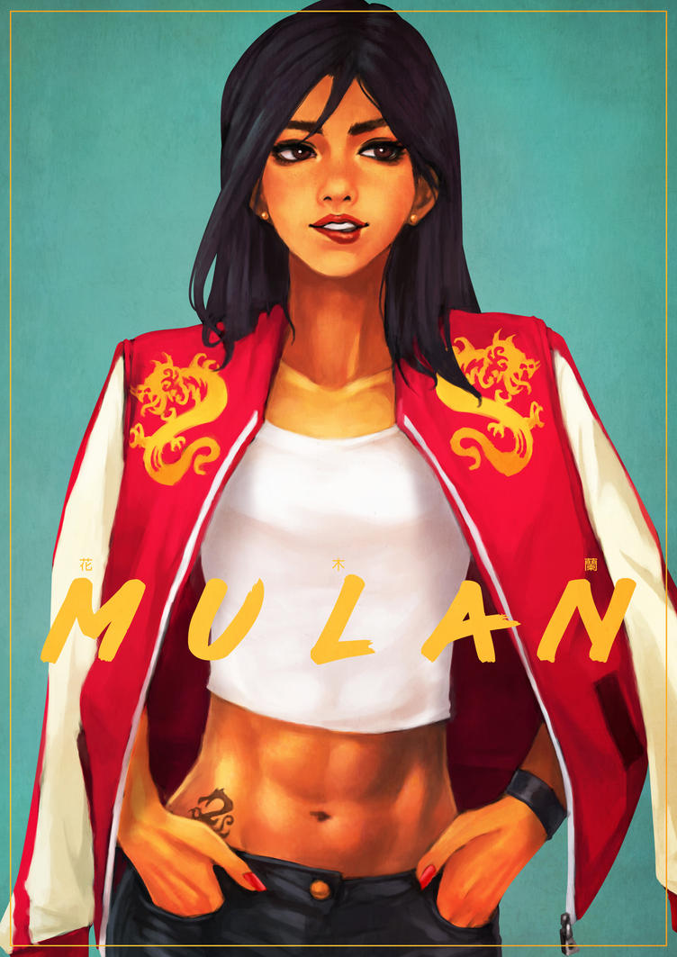 Casual Mulan by MonoriRogue