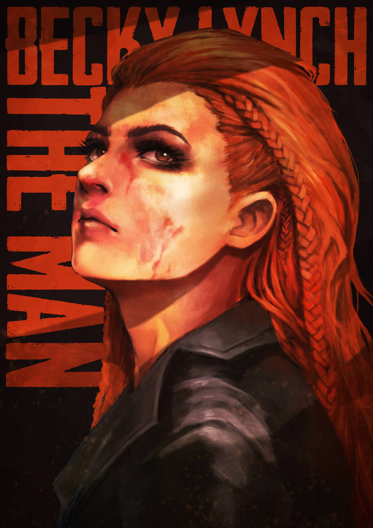 Becky Lynch - The Man by MonoriRogue