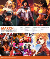 Patreon March 2019 Content Preview by MonoriRogue