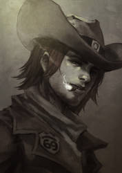 McCree Doodle by MonoriRogue