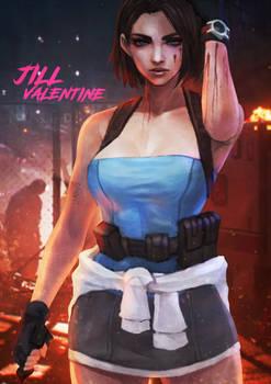 Commission - Jill Valentine