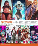 Patreon September 2021 Content Preview