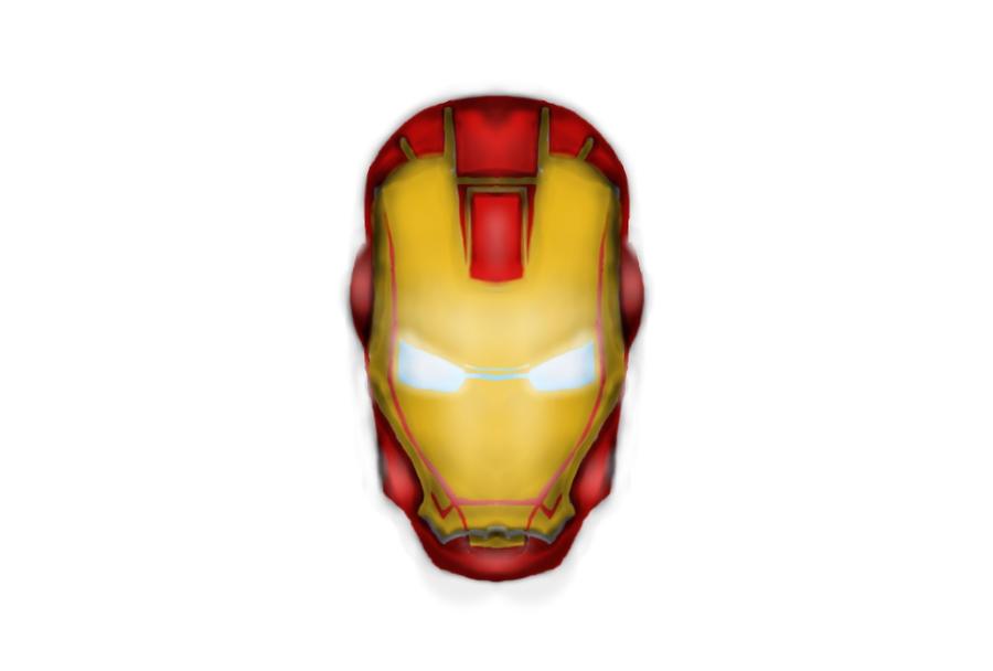Iron Man Cartoon Face Iron Man Face Cartoon