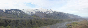Eyjafjallajokull panorama