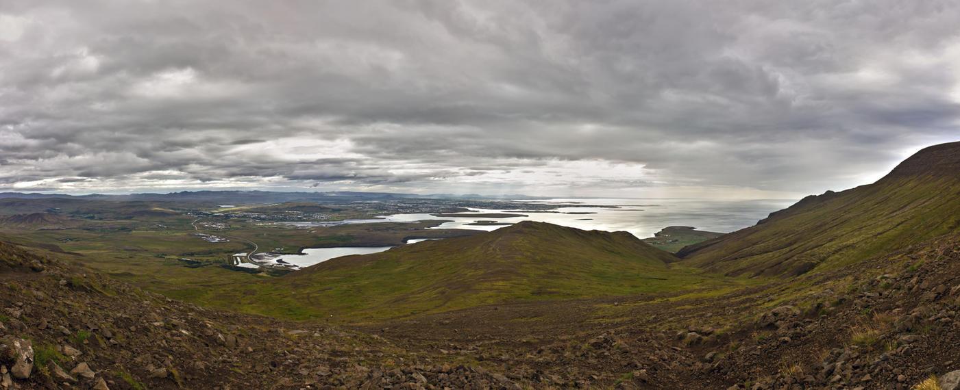 Reykjavik panorama by spartout