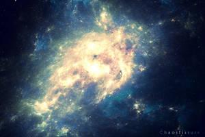 Dragonfire Nebula by ChaosFissure