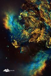 Prismatic Flood Nebula by ChaosFissure