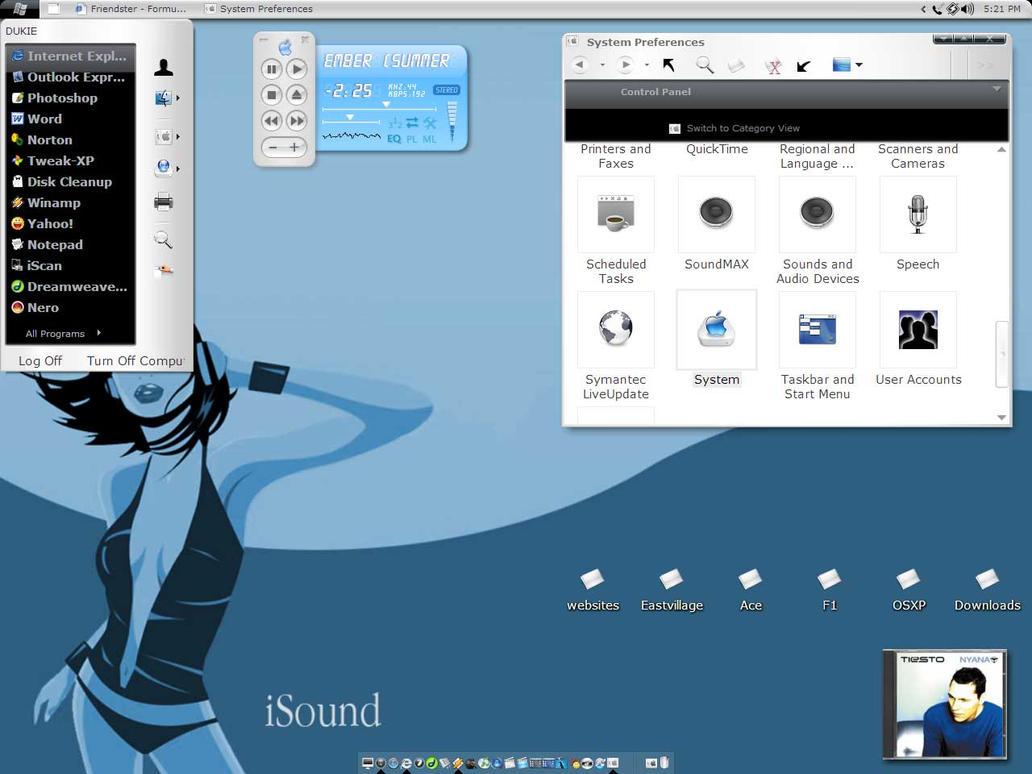 My Aero Desktop by bedlamboy