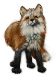 Airbrushed foxxo