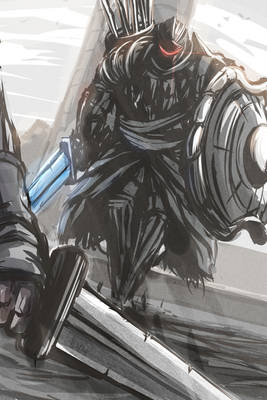 Rooftop Pursuer (Dark Souls 2).