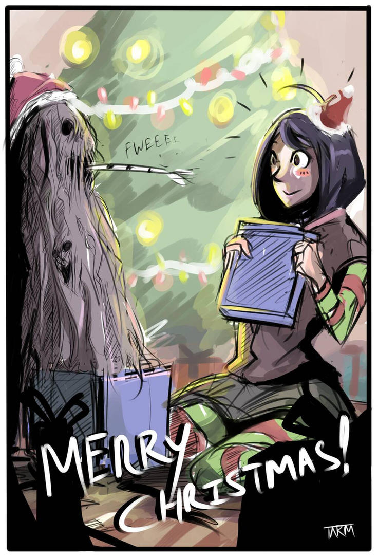 Merry Christmas. by Paper-pulp