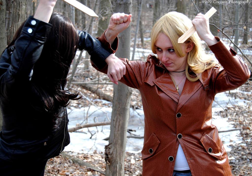 Buffy the vampire slayer shoot 5 by Wolfy-Grayson