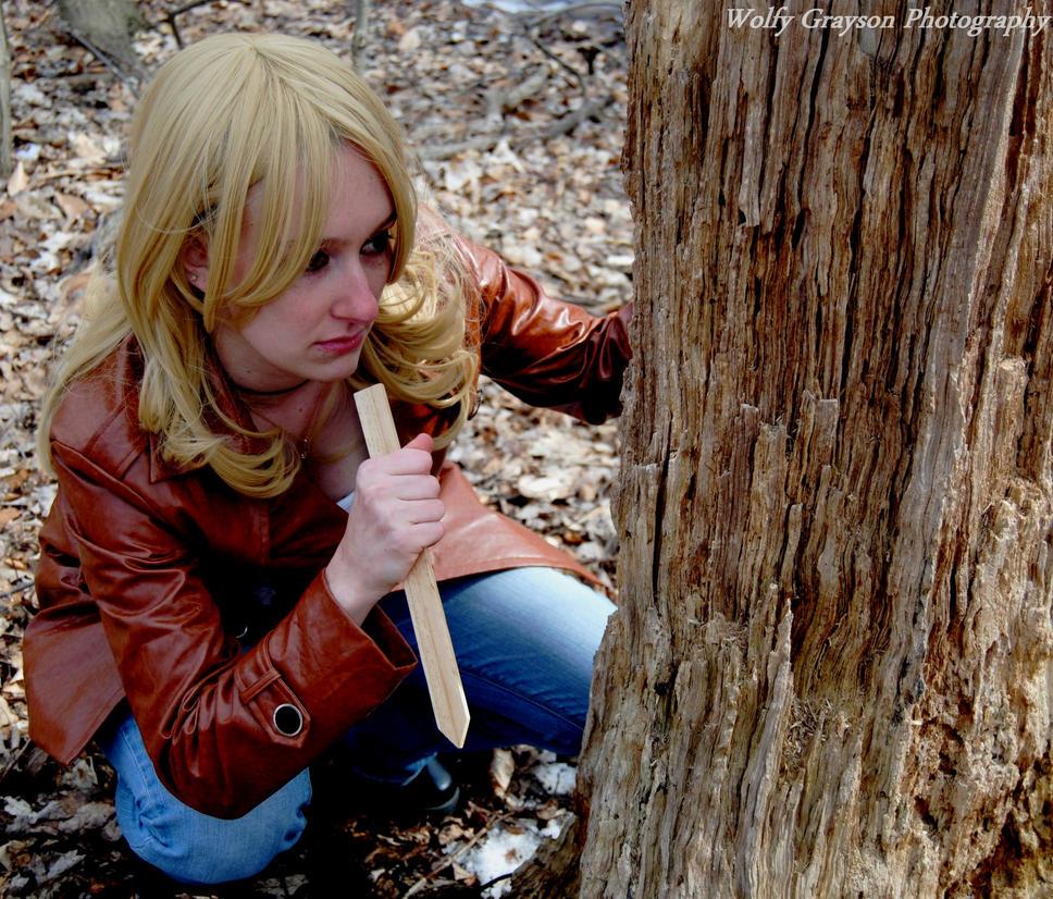 Buffy the vampire slayer shoot 7 by Wolfy-Grayson