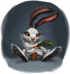 White rabbit by TatianaChern
