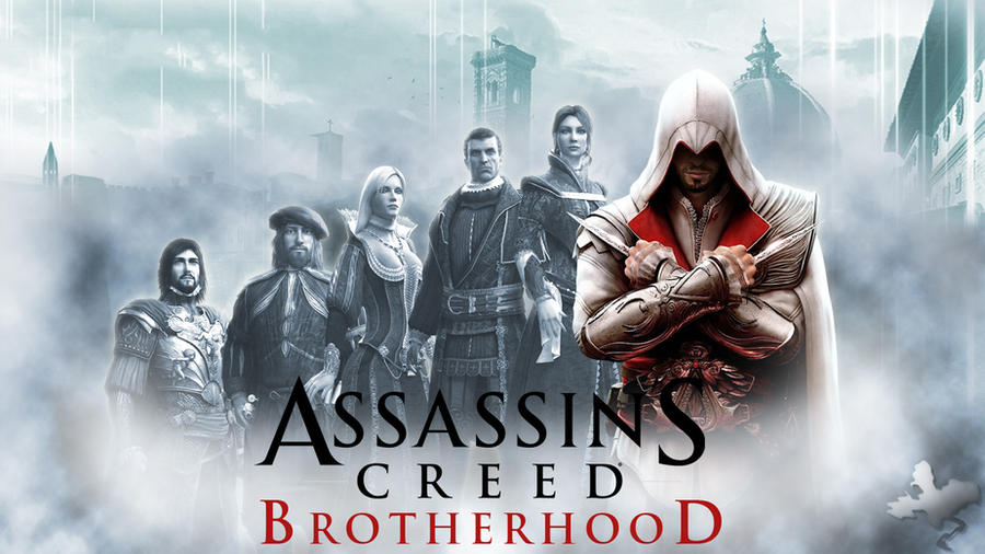 Assassins Creed Brotherhood - Wallpaper by SendesCyprus.