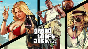 Grand Theft Auto V - Wallpaper