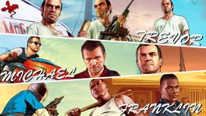 Grand Theft Auto V - Wallpaper by SendesCyprus