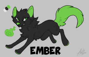Ember Reference by DaimonKitty