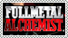 Fullmetal Alchemist Stamp by DaimonKitty
