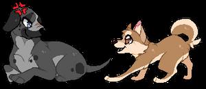 Kuro and Hiro [JD] by DaimonKitty
