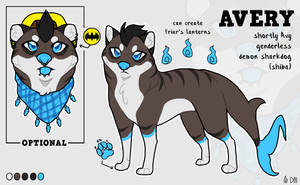 Avery Reference (2019) by DaimonKitty