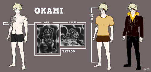 Kami Reference by DaimonKitty