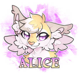 Alice badge