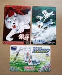 Ginga Nagareboshi Gin cards by Deebat