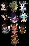 Fortuna RPG characters