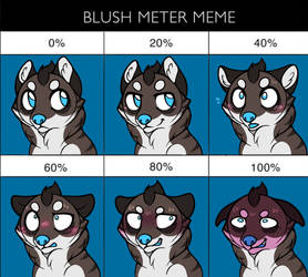 Blush Meter Meme