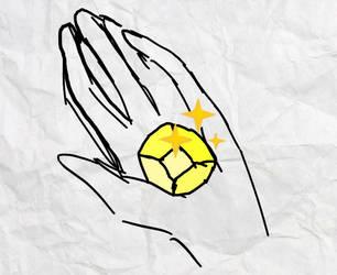 Steven universe oc light topaz the gem please by Veep-X-2231