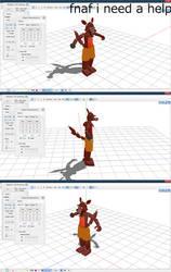 Mmd Fnaf Foxy I Need A Help by Veep-X-2231