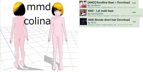 Mmd Colina by Veep-X-2231