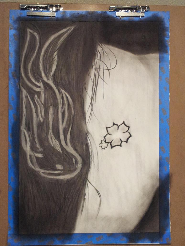 Hair Like Water Flowing Over Imprinted Skin by KuraiSuiryoku