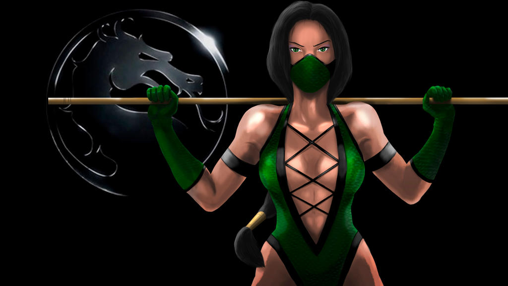 Jade. Mortal Kombat by MaleksArt