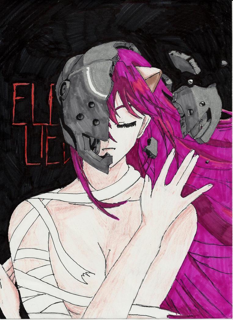 Elfen Lied by manderbear17