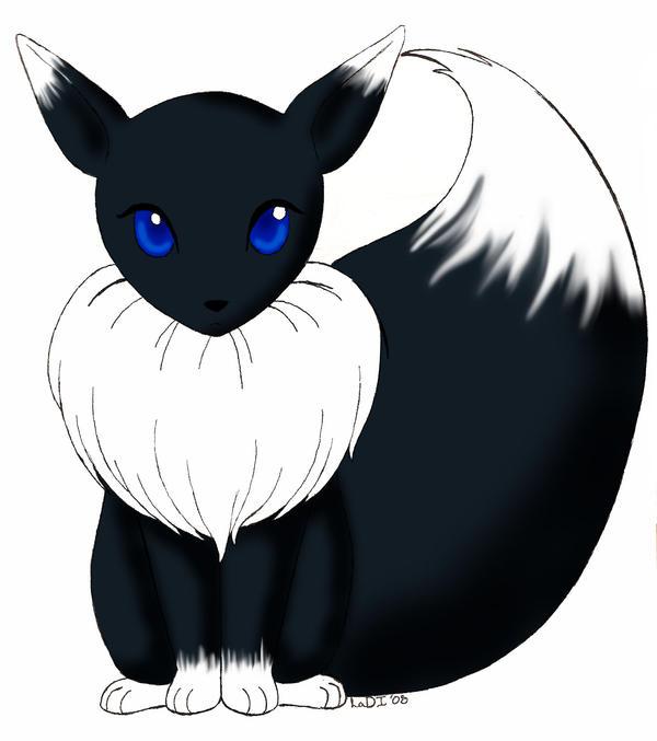 chibi Teumessian fox by MsNita