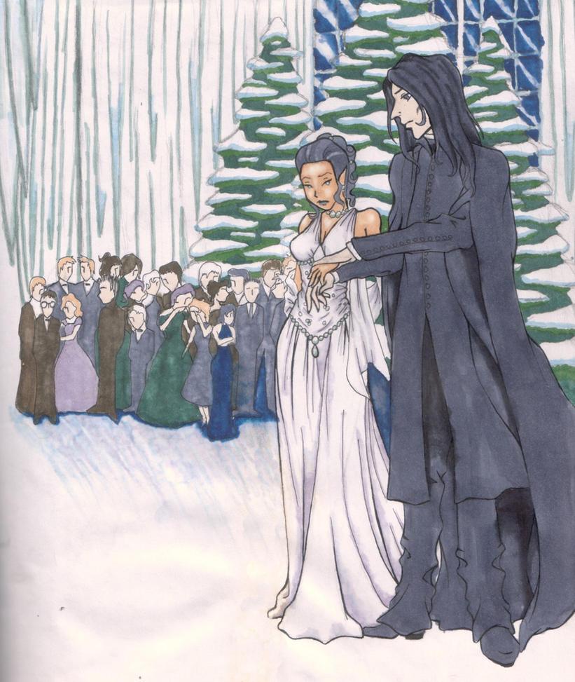 A Christmas Ball at Hogwarts by MsNita